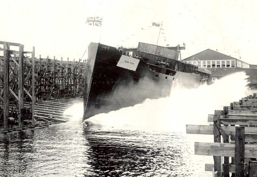 WAR FISH launching