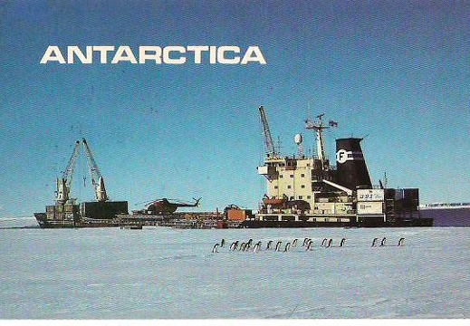 Antarctic mail
