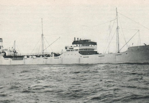 The Swedish motor tanker CASTOR photographed in the mid 1930s.